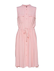 YASNEELA SL DRESS VIP - CORAL BLUSH