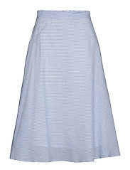 YASCLOUD HW MIDI SKIRT - ICONS S. - DARK DENIM