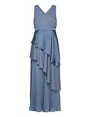 YASDORY SL MAXI DRESS - SHOW - BLUE HEAVEN
