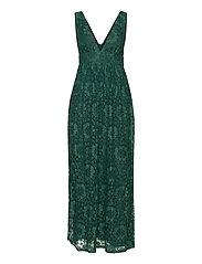 YASCHESHIRE SL MAXI DRESS - SHOW - EVERGREEN
