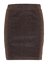 YAS YASMETTE MW SKIRT BOOZT D2D - COPPER COLOUR