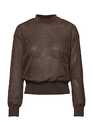 YASMETTE LS TOP BOOZT D2D - COPPER COLOUR