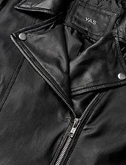 YAS - YASSOPHIE LEATHER JACKET - skinnjackor - black - 2