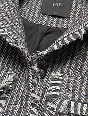 YAS - YASFAVE LS JACKET - lichte jassen - silver gray - 2