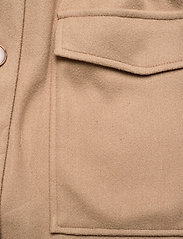 YAS - YASMALVAN WAISTCOAT CA - wollen jassen - tawny brown - 4