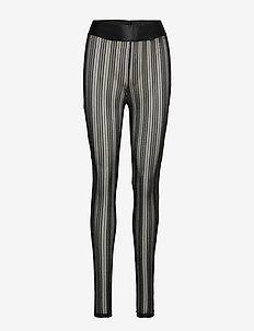 YASSTACY LEGGINGS - leggings - black