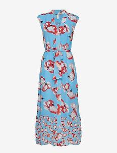 YASVAMILLA ANKLE DRESS - DA - BONNIE BLUE
