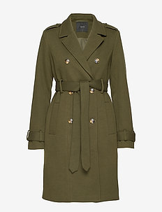 YASCHADRO WOOL COAT - BEECH