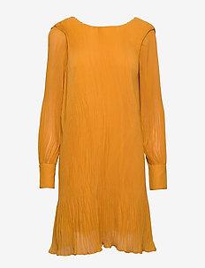 YASKRYSTLE LS DRESS - GOLDEN YELLOW