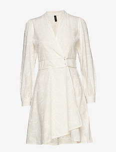 YASLYDIANNA WRAP DRESS - ICON S. - wrap dresses - star white