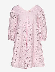 YASPENNY 3/4 DRESS S. - CRADLE PINK