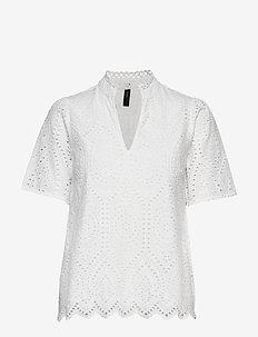 YASHOLI SS TOP S. - bluzki z krótkim rękawem - star white