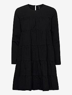 YASSHILO LS DRESS - ICON S. - korte kjoler - black