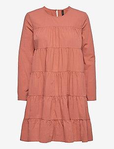 YASSHILO LS DRESS - ICON S. - korte kjoler - cedar wood