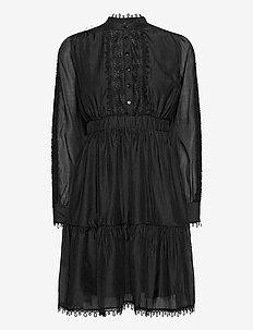 YASKEMSLEY LS DRESS - SHOW - korte kjoler - black