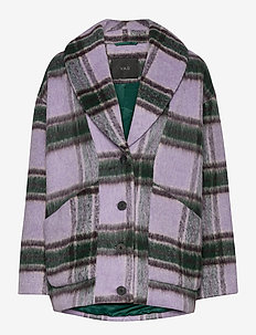 YASHAIA WOOL JACKET - wolljacken - lilac sachet