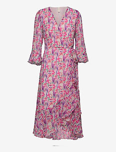 YASESMERALDA 3/4 DRESS - SHOW S. - hverdagskjoler - cradle pink