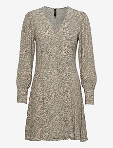YASLICURA LS DRESS S. - alledaagse jurken - shadow
