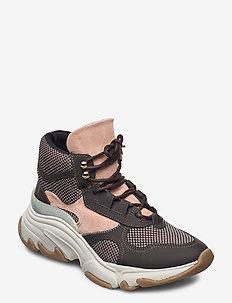 YASBLOCKY SNEAKERS - sneakers med høy ankel - black