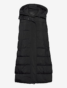 YASLIRA PADDED VEST - puffer-vestid - black