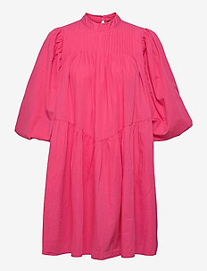YASSALISA 3/4 DRESS S. - sommerkjoler - fandango pink