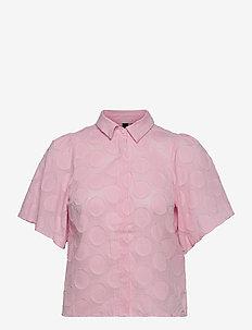 YASDANILLA 2/4 SHIRT S. - overhemden met korte mouwen - roseate spoonbill