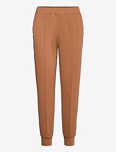 YASKIKKO MW ANKLE SWEAT PANT - sweatpants - lion