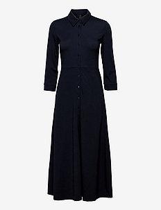 YASSAVANNA 3/4 LONG JERSEY  DRESS DF - skjortklänningar - sky captain