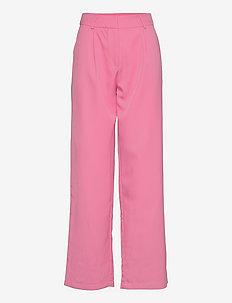 YASSERENA HW WIDE PANTS - CA - bukser med brede ben - fuchsia pink