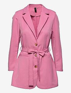 YASSERENA 7/8 LOOSE BLAZER - CA - casual blazere - fuchsia pink