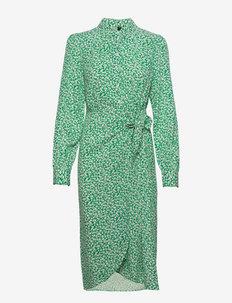 YASFELICITY LS WRAP DRESS - CA - alledaagse jurken - jolly green