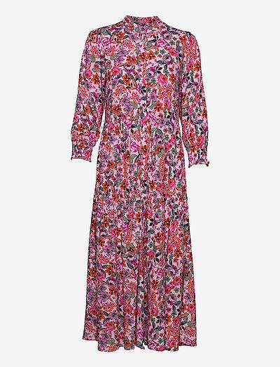 YASALIRA 3/4 LONG DRESS S. - maxi dresses - blushing bride