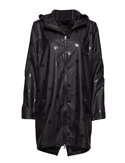 YASDOTTA THEKLA RAINCOAT - BLACK