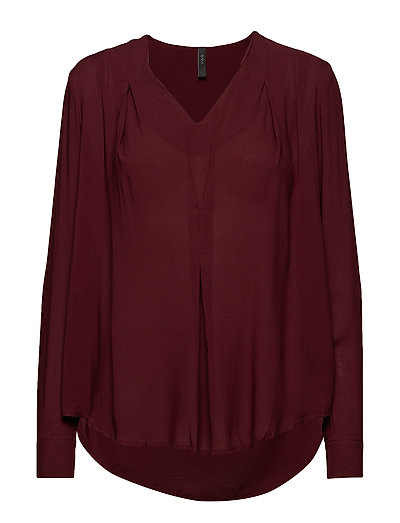 YASSPENCER LS BLOUSE - PORT ROYALE