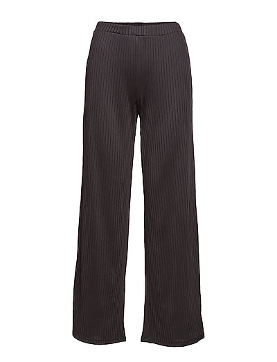 YASBLACE WIDE PANTS - BLACK