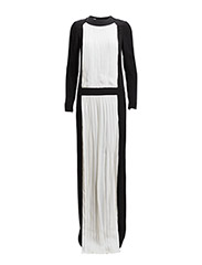 ISA DRESS - BLACK/ IVORY