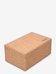 Yogiraj - Cork block, large - YOGIRAJ - yogamatten & ausrüstung - natural - 1