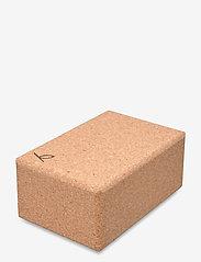 Yogiraj - Cork block, large - YOGIRAJ - yogamatten & ausrüstung - natural - 2