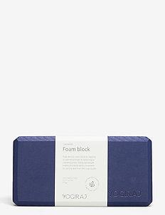 Yogablock - Yogiraj - yogablokker og stropper - blueberry blue