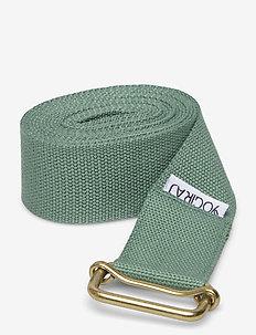 Yoga belt, standard - YOGIRAJ - joogablokit ja vyöt - moss green