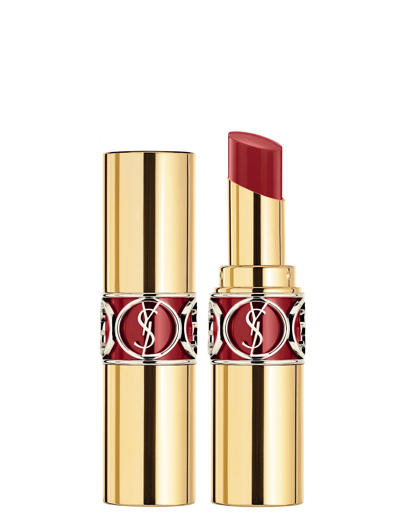 Yves Saint Laurent Rouge Volupté Shine  8 Pink in confidence