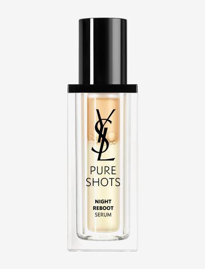 Pure Shots Night Reboot Serum 30 ml - serum - clear