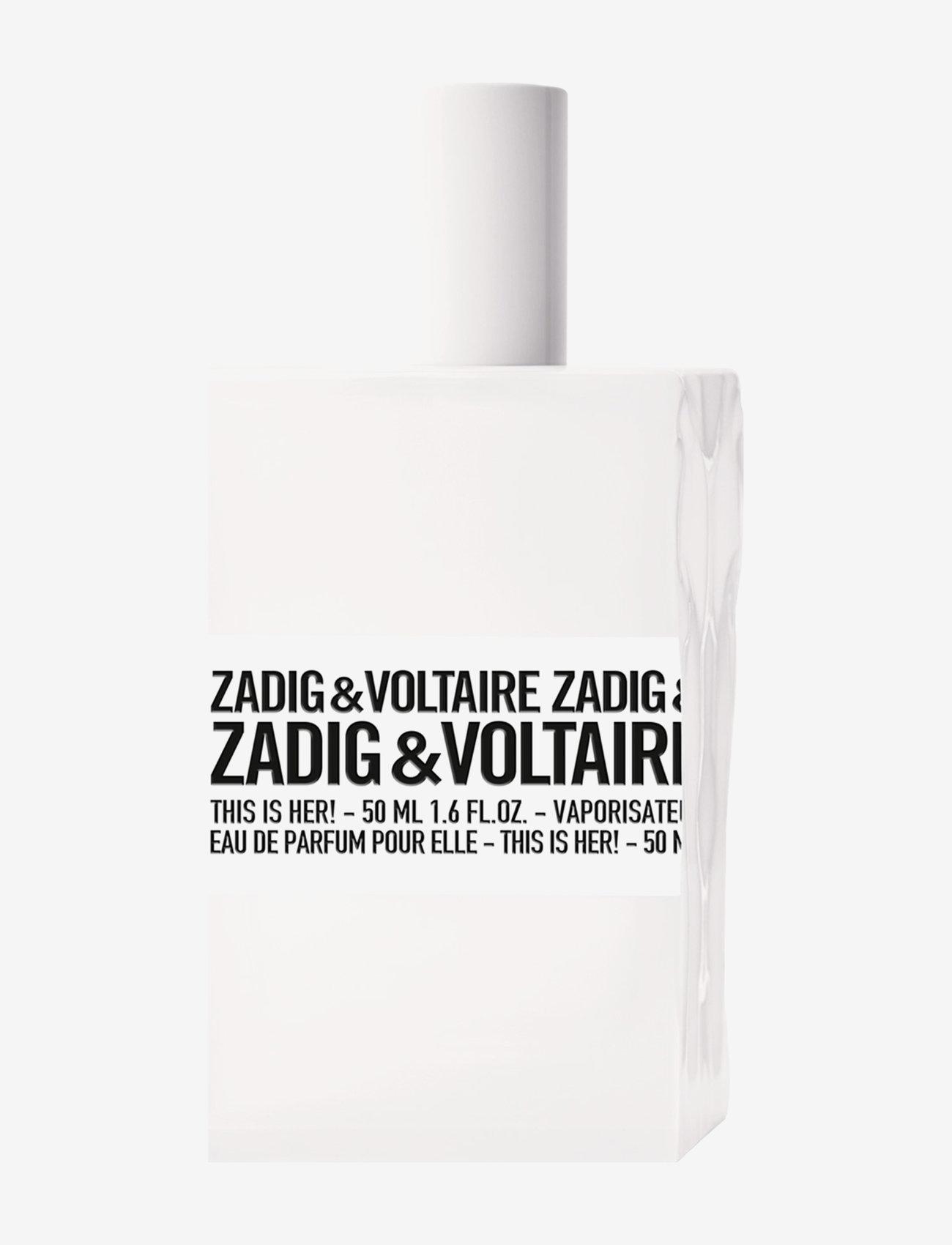 Zadig & Voltaire Fragrance - THIS IS HER! EAU DE PARFUM - parfume - no color - 0