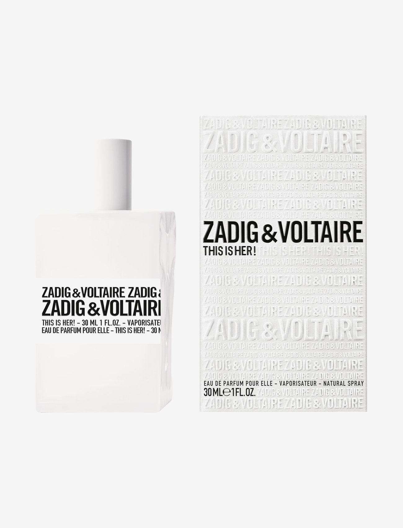 Zadig & Voltaire Fragrance - THIS IS HER! EAU DE PARFUM - parfume - no color - 1