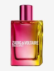 Zadig & Voltaire Fragrance - THIS IS LOVE HER EAU DE PARFUM - parfume - no color - 0