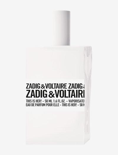 THIS IS HER! EAU DE PARFUM - parfume - no color
