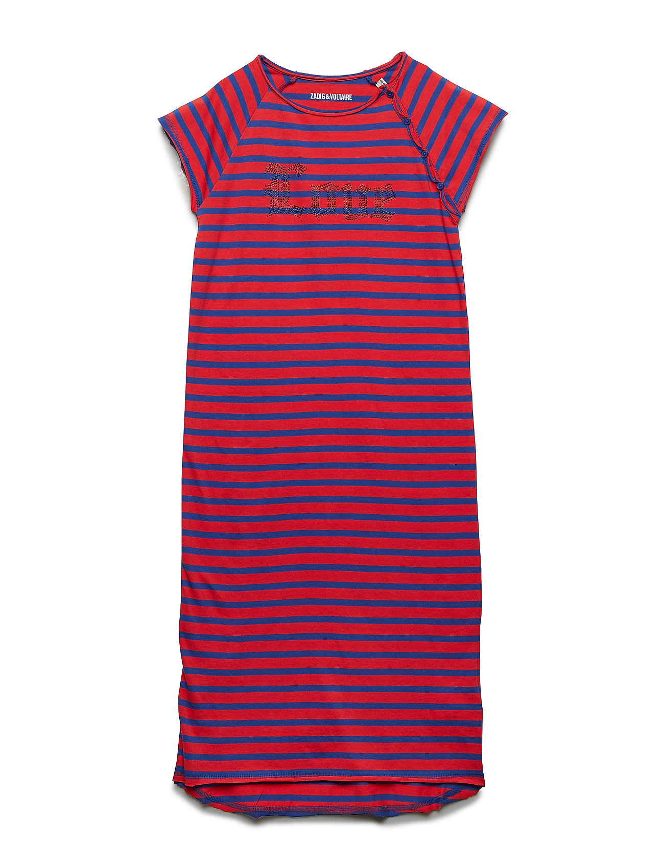 Zadig & Voltaire Kids DRESS - RED/BLUE