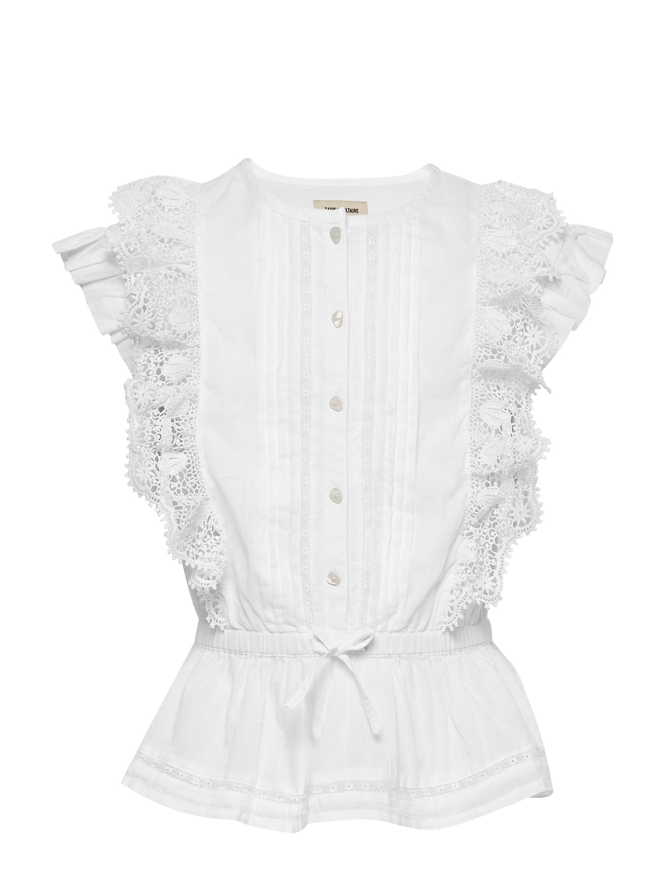 Zadig & Voltaire Kids BLOUSE - WHITE