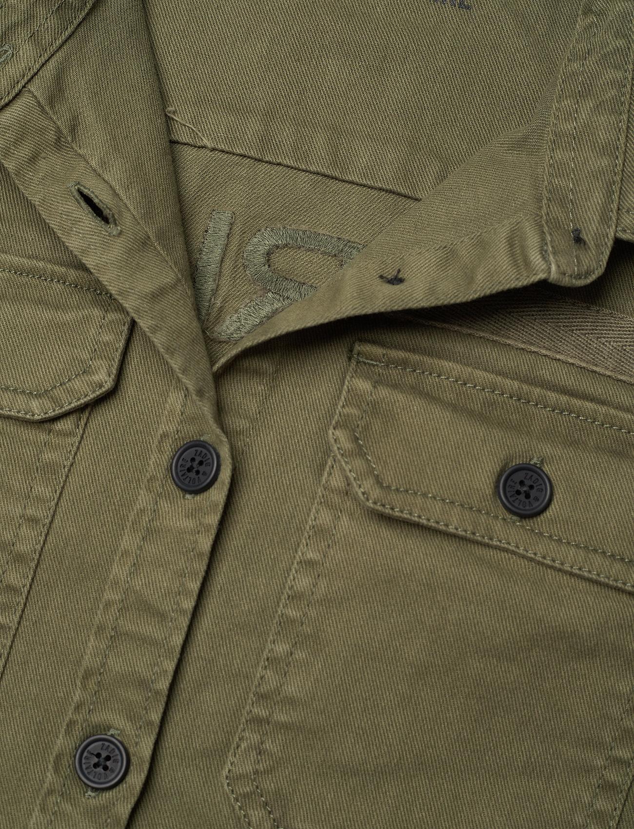 Shirt (Khaki) (61.10 €) - Zadig & Voltaire Kids hpFur