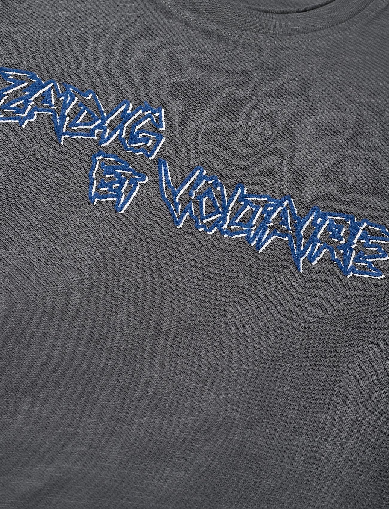 Zadig & Voltaire Kids Short Sleeves Tee-shirt - Överdelar Medium Grey